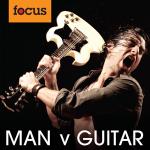 man v guitar