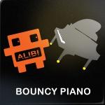warm bouncy piano