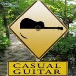 casual guitar