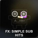 simple sub hits
